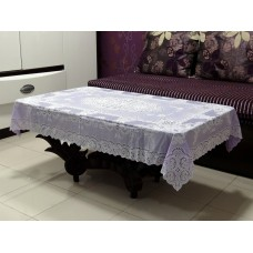 "36"" x 54"" Fancy Lace Vinyl Centre Tablecloth (Violet)"