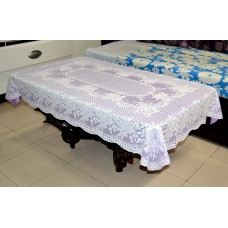 "36"" x 54"" Rose Lace Vinyl Tablecloth (Violet)"