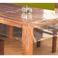 "60"" x 108"" (Oval) Clear Transparent Dining Table Cover"