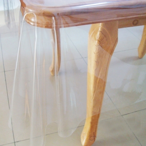 "40"" x 60"" Clear Transparent Center Table Cover"