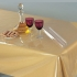 """60"""" x 90"""" (Oval) Clear Transparent Dining Table Cover"""