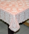 "36"" x 54"" Crosia Lace Vinyl Centre Tablecloth (Copper)"