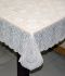 "36"" x 54"" Crosia Lace Vinyl Centre Tablecloth (Peach)"